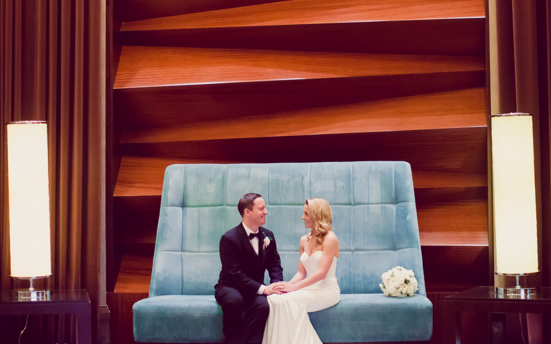 Kelly and Bret's Modern Red Rock Wedding