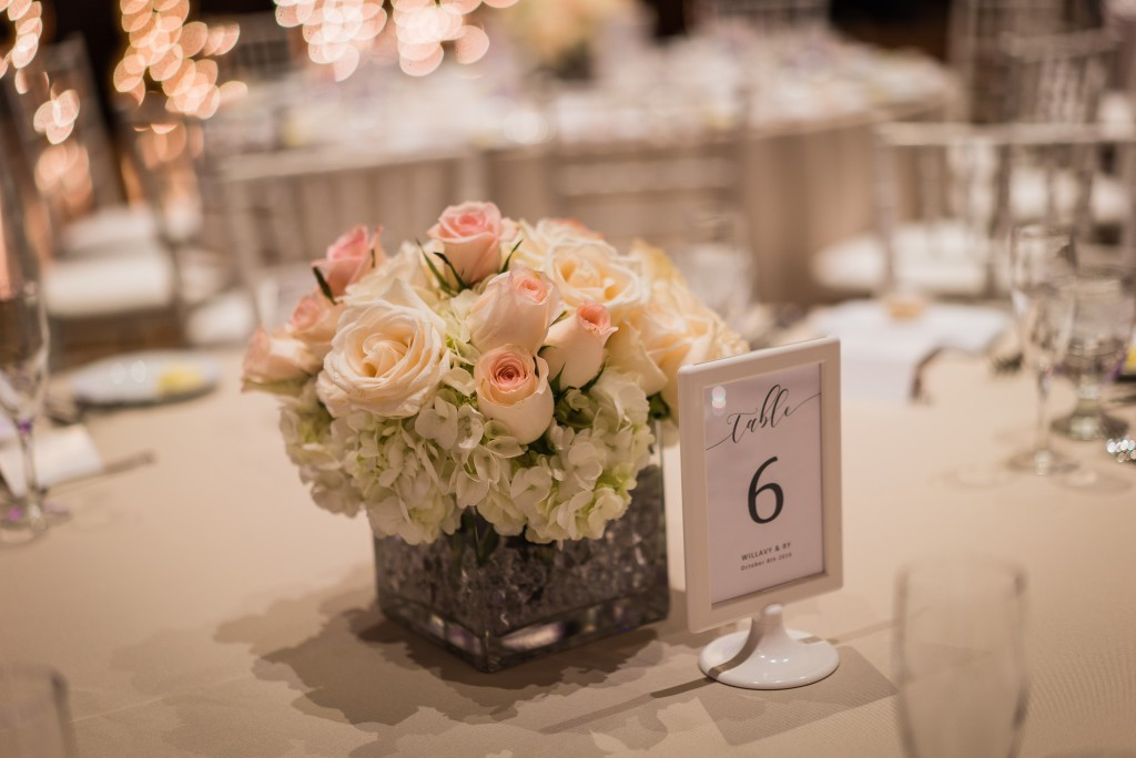 cherry blossom centerpieces By Dzign Las Vegas 2