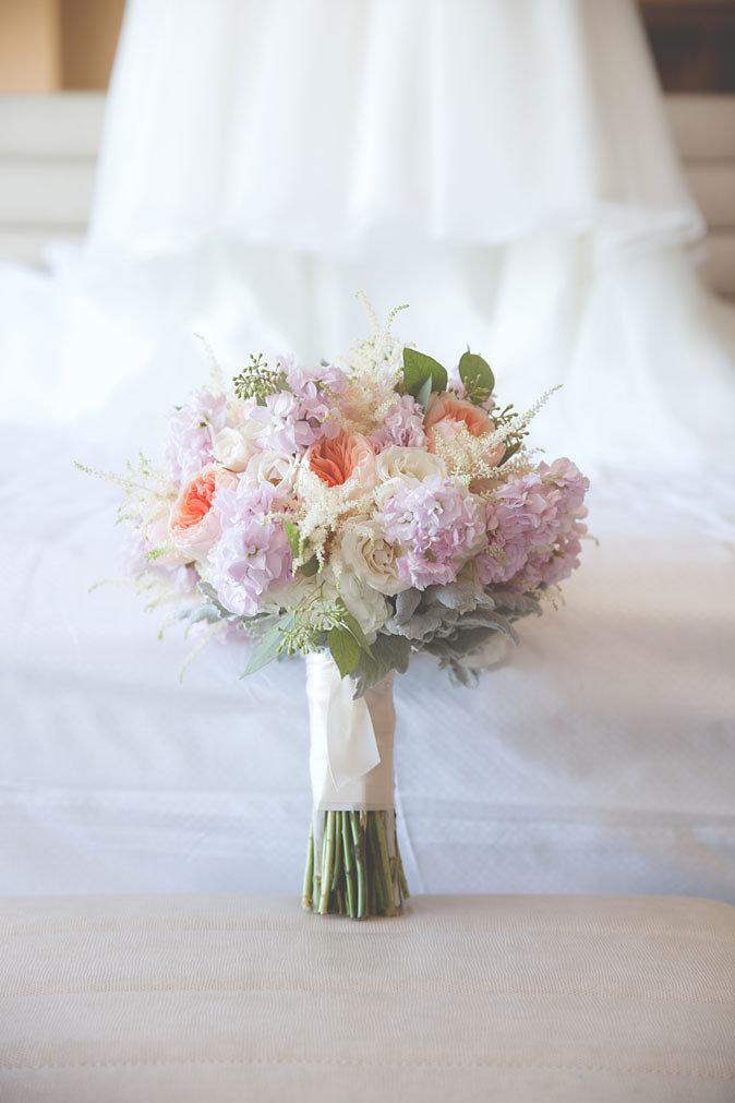 pastel wedding florals By Dzign Las Vegas 1