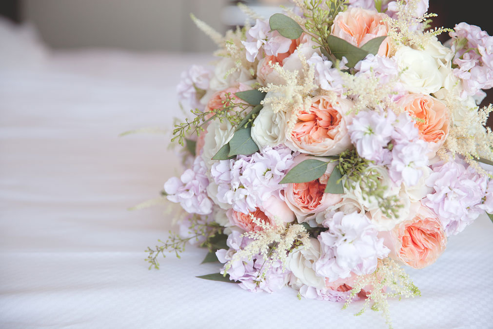 Stunning Pastel Wedding Florals at M Resort