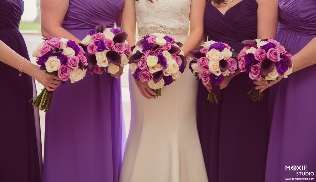 Purple Wedding By Dzign Las Vegas