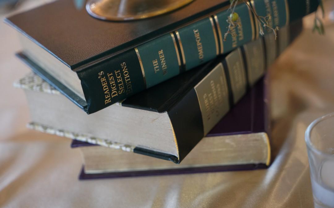 Romantic Book Themed Wedding at Revere Golf Club