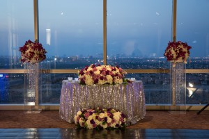 Purple and White Wedding By Dzign Las Vegas 8