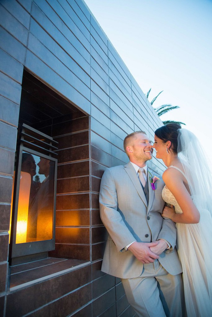 Purple and White Wedding By Dzign Las Vegas 9