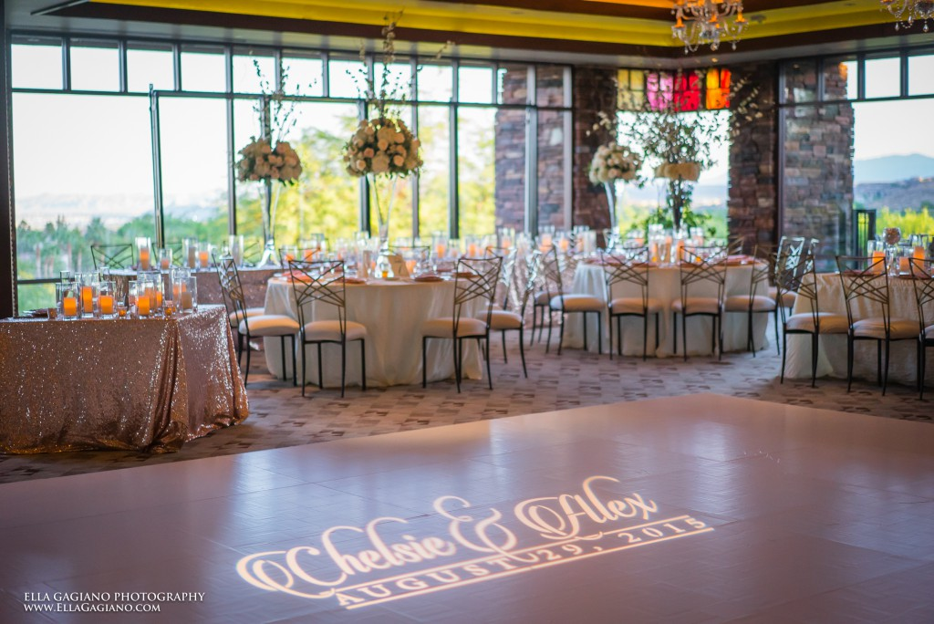 Wedding at Red Rock Country Club Las Vegas Wedding Design By Dzign 87