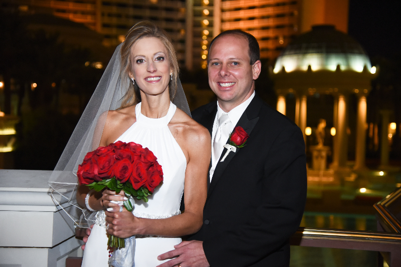 red rose wedding by dzign las vegas wedding 2
