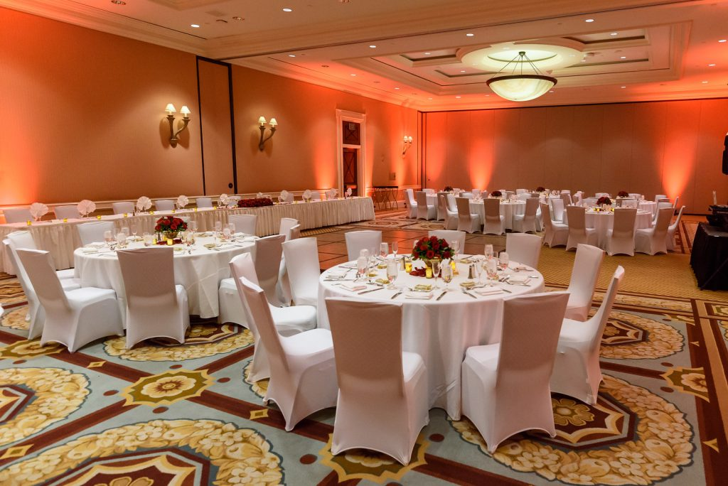 Classic Red Rose Wedding At Caesars Palace Wedding Design Floral
